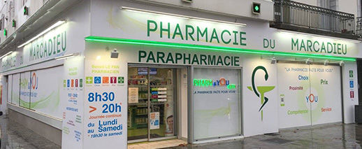 Pharmacie du Marcadieu, TARBES