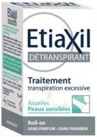 Etiaxil Aisselles Détranspirant Peau Sensibles Roll-on/15ml à TARBES