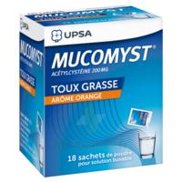Mucomyst 200 Mg Poudre Pour Solution Buvable En Sachet B/18 à TARBES