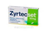 ZYRTECSET 10 mg, comprimé pelliculé sécable à TARBES