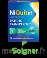 NIQUITIN 21 mg/24 heures, dispositif transdermique Sach/28 à TARBES