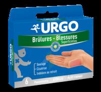 URGO BRULURES-BLESSURES PETIT FORMAT x 6 à TARBES