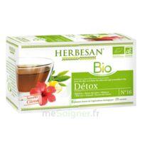 Herbesan Infusion Bio Tisane Détox 20 Sachets à TARBES