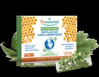 Puressentiel Respiratoire Pastilles Respiratoire aux 3 miels aromatiques - 18 pastilles à TARBES
