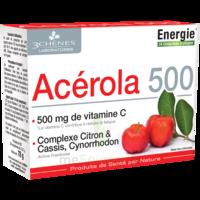 3 CHENES PHYTOTHERAPIE FAMILIALE Comprimés à croquer Acérola 500 B/24 à TARBES