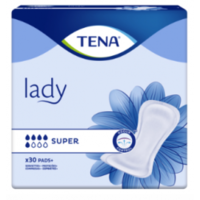Tena Lady Protection Anatomique Adhésive Super Sachet/30 à TARBES