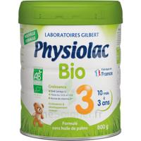 Physiolac Bio Lait 3éme Age 800g à TARBES