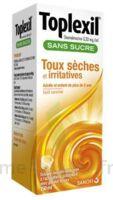 Toplexil 0,33 Mg/ml Sans Sucre Solution Buvable 150ml à TARBES