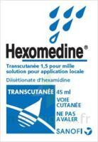 HEXOMEDINE TRANSCUTANEE 1,5 POUR MILLE, solution pour application locale à TARBES