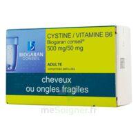 Cystine/vitamine B6 Biogaran Conseil 500 Mg/50 Mg Cpr Pell Plq/120 à TARBES