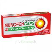 Nurofencaps 400 Mg Caps Molle Plq/10 à TARBES