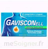 Gavisconell Coprimés à Croquer Sans Sucre Menthe édulcoré à L'aspartam Et à L'acésulfame Potas Plq/24 à TARBES