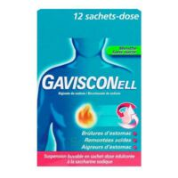 GAVISCONELL Suspension buvable sachet-dose menthe sans sucre 12Sach/10ml à TARBES