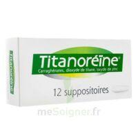 Titanoreine Suppositoires B/12 à TARBES