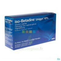 Betadine 10 %, Solution Vaginale En Récipient Unidose à TARBES