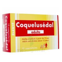 COQUELUSEDAL ADULTES, suppositoire à TARBES