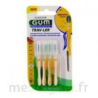 Gum Trav - Ler, 1,3 Mm, Manche Jaune , Blister 4 à TARBES