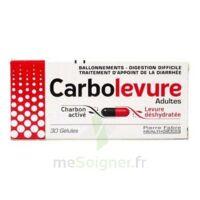 Carbolevure Gélules Adulte Plq/30 à TARBES