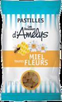 Les Douceurs d'Amelys Pastilles Miel toutes fleurs Sachet/100g à TARBES