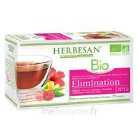 Herbesan Hibiscus Bio Tisane élimination 20 Sachets à TARBES