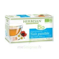 Herbesan Infusion Bio Tisane relaxation détente 20 Sachets à TARBES