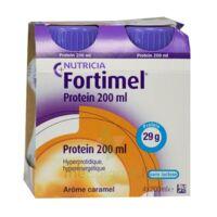 Fortimel Protein Nutriment Caramel 4 Bouteilles/200ml à TARBES