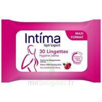 Intima Gyn'Expert Lingettes Cranberry Paquet/30 à TARBES