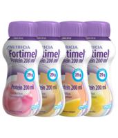 Fortimel Protein Nutriment Multi Saveurs Caramel/vanille/fraise/mangue 4 Bouteilles/200ml à TARBES
