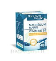 Nat&form Expert Magnésium+vitamine B6 Gélules B/40 à TARBES