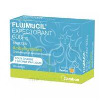 Fluimucil Expectorant Acetylcysteine 600 Mg Glé S Buv Adultes 10sach à TARBES