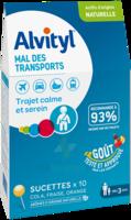 Alvityl Sucette Mal Des Transports B/10 à TARBES
