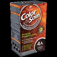 COLOR&SOIN Kit coloration permanente 4A marron glacé à TARBES