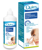 Quies Optik Solution lentille souple multifonctions Fl/360ml + Etui à TARBES