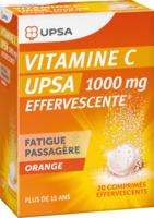 Vitamine C Upsa Effervescente 1000 Mg, Comprimé Effervescent à TARBES